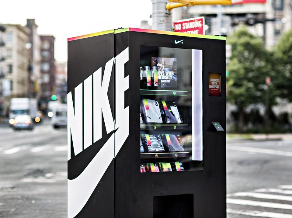 The Nike Vending Machine That Accepted Fuelband Points As