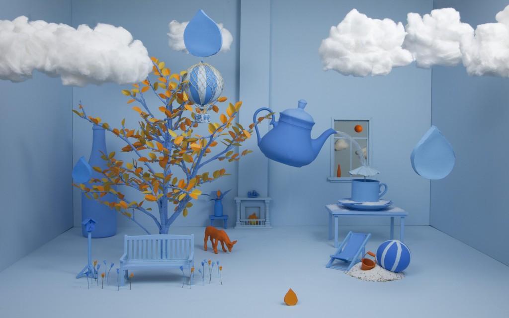 """""""4 Seasons in blue"""""""