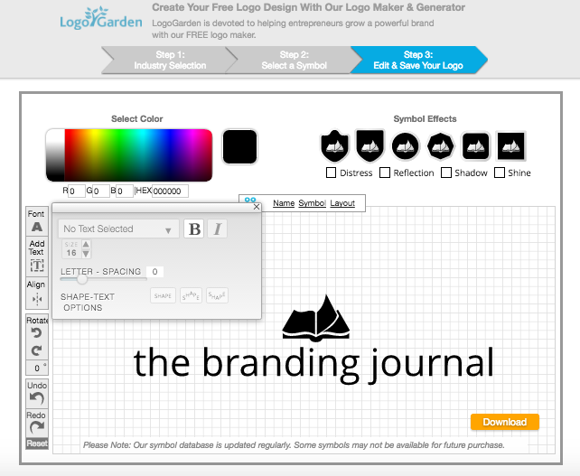 Top 8 Online Logo Generators | The Branding Journal