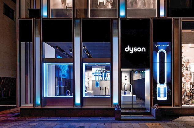 dyson show their innovation in new uk store opening